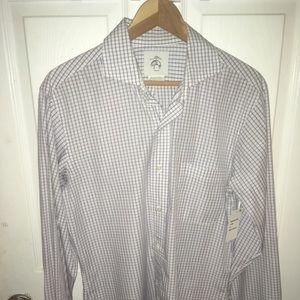 Black fleece button up shirt , thom Browne bb2/M